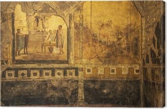 Tableau sur toile Fresques de Pompéi