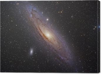 Tableau sur toile Galaxie d'Andromède