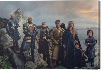 Tableau sur toile Game of Thrones