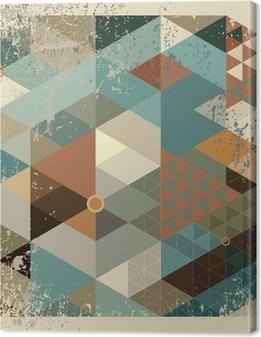 Tableau sur toile Geometric background
