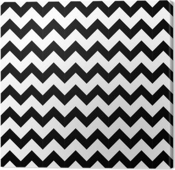 Tableau sur Toile Géométrique abstraite, seamless, en zigzag. vecteur