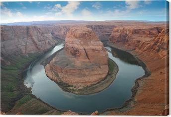 Tableau sur toile Grand Canyon, Horse Shoe Bend