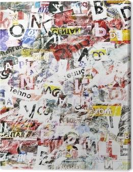 Tableau sur toile Grunge Textured Background