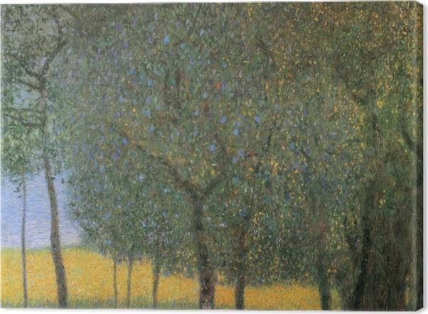 Tableau sur toile Gustav Klimt - Arbres Fruitiers - Reproductions