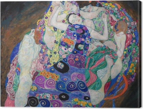 Tableau sur toile Gustav Klimt - La jeune fille - Reproductions