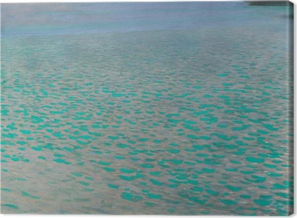 Tableau sur toile Gustav Klimt - Lac d'Attersee - Reproductions