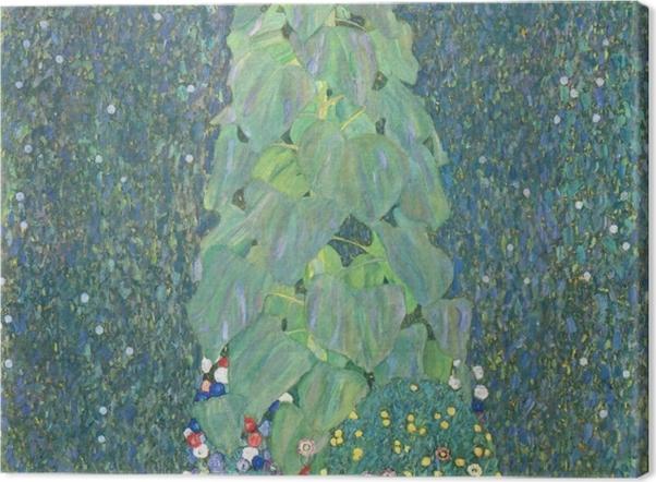 Tableau sur toile Gustav Klimt - Le Tournesol - Reproductions