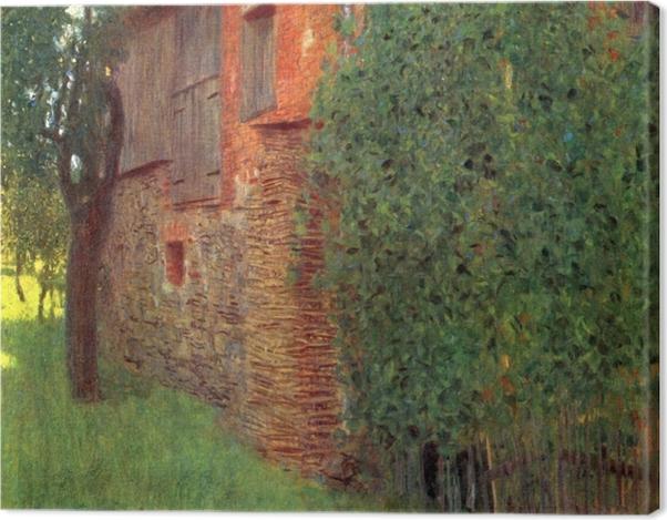 Tableau sur toile Gustav Klimt - Maison à Kammer - Reproductions