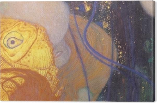 Tableau sur toile Gustav Klimt - Poisson rouge - Reproductions