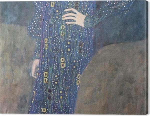 Tableau sur toile Gustav Klimt - Portrait d'Emilie Flöge - Reproductions