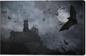 Tableau sur toile Halloween Background