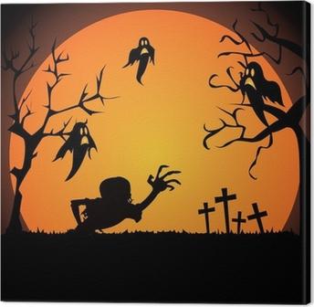 Tableau sur toile Halloween