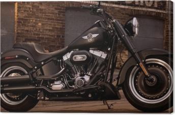 Tableau sur toile Harley Davidson