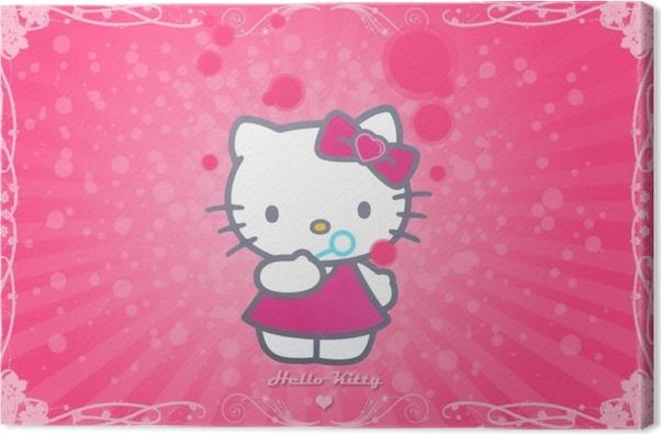 Tableau sur toile Hello Kitty - Criteo