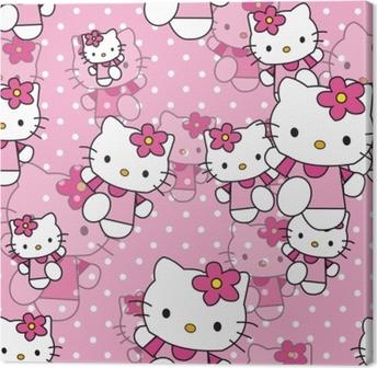 Tableau sur toile Hello Kitty