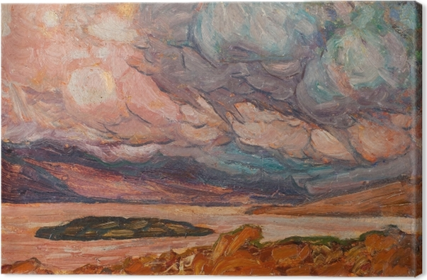 Tableau sur toile Helmer Osslund - Paysage - Reproductions