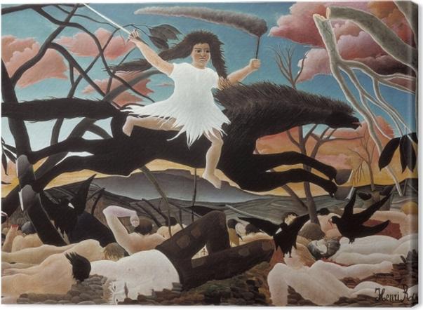 Tableau sur toile Henri Rousseau - La Guerre - Reproductions