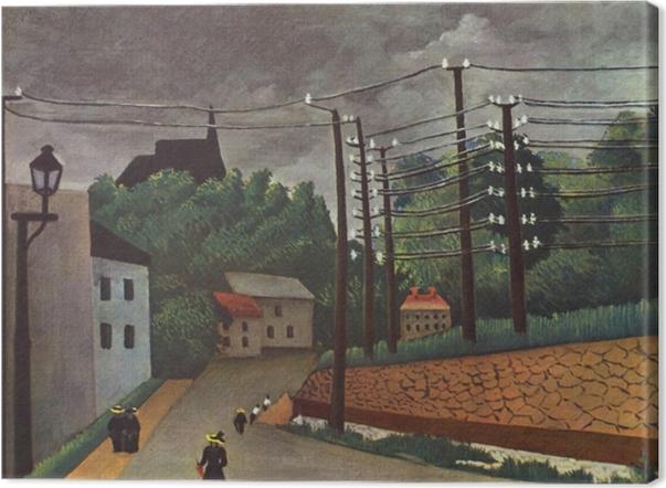 Tableau sur toile Henri Rousseau - Malakoff - Reproductions