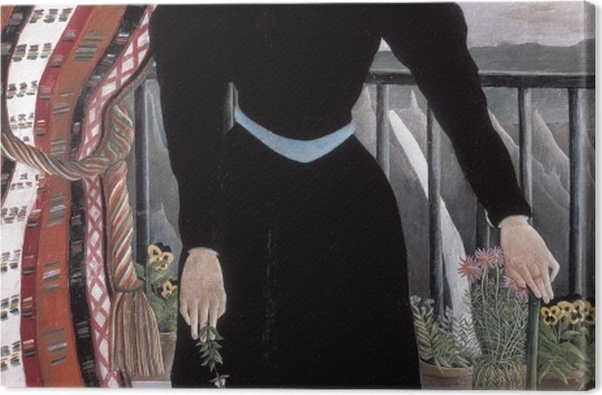 Tableau sur toile Henri Rousseau - Portrait de femme - Reproductions