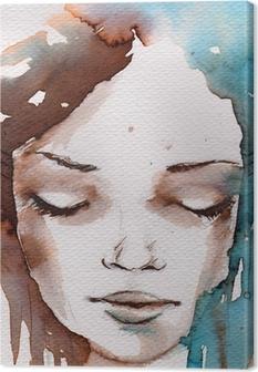 Tableau sur Toile Hiver, portrait froid