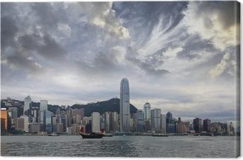 Tableau sur toile Hong-Kong