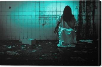 Tableau sur toile Horreur ou scène effrayante
