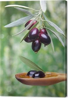 Tableau sur toile Huile d olive