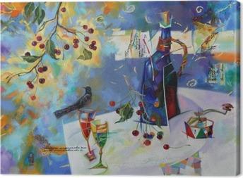 Tableau sur toile Huile peintures image