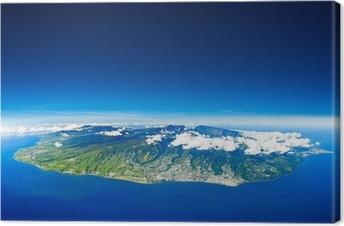 Tableau sur toile Ile de la Réunion