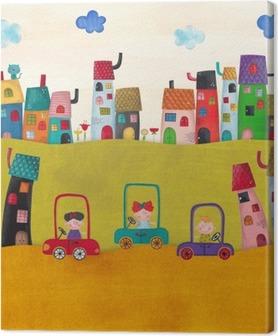 Tableau sur toile Illustration pour les enfants
