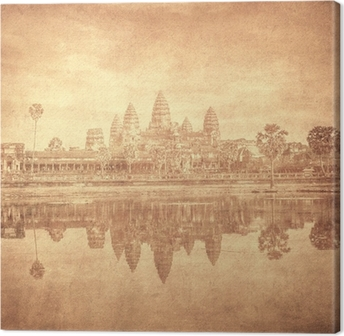 Tableau sur toile Image de cru d'Angkor Wat, au Cambodge