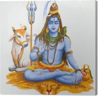Tableau sur toile Image de Shiva