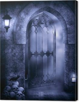Tableau sur toile Imagination gothique
