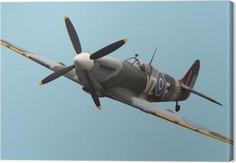 Tableau sur toile Isolé Spitfire