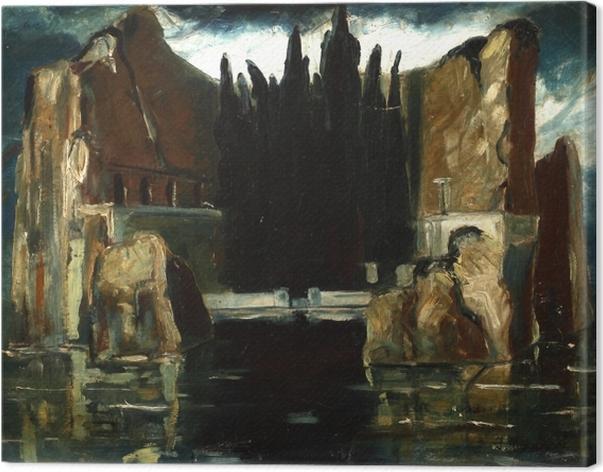 Tableau sur toile Jacek Malczewski - L'île des morts - Reproductions