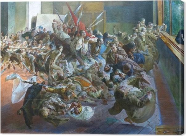 Tableau sur toile Jacek Malczewski - Mélancolie - Reproductions