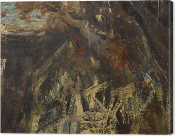 Tableau sur toile Jacob Maris - La petite marquise - Reproductions