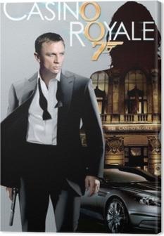 Tableau sur toile James Bond