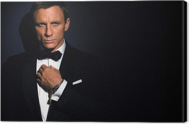 Tableau sur toile James Bond - Thèmes