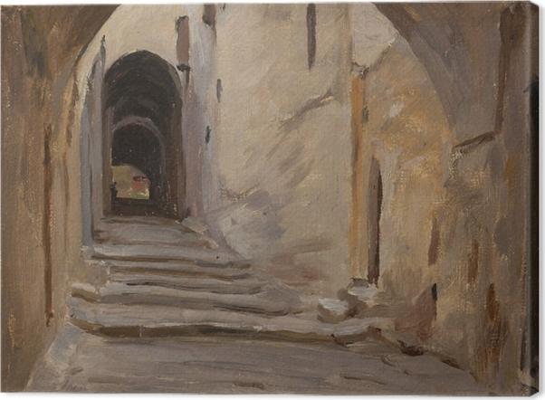 Tableau sur toile Jan Ciągliński - Jerusalem. Du voyage en Palestine. - Reproductions