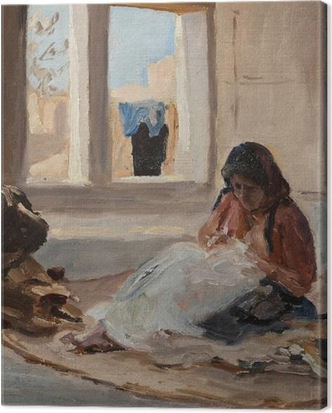 Tableau sur toile Jan Ciągliński - Nazareth. Du voyage en Palestine. - Reproductions