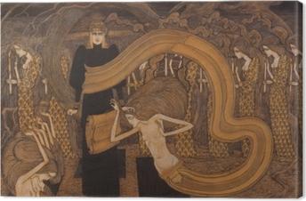 Tableau sur toile Jan Toorop - Fatalisme