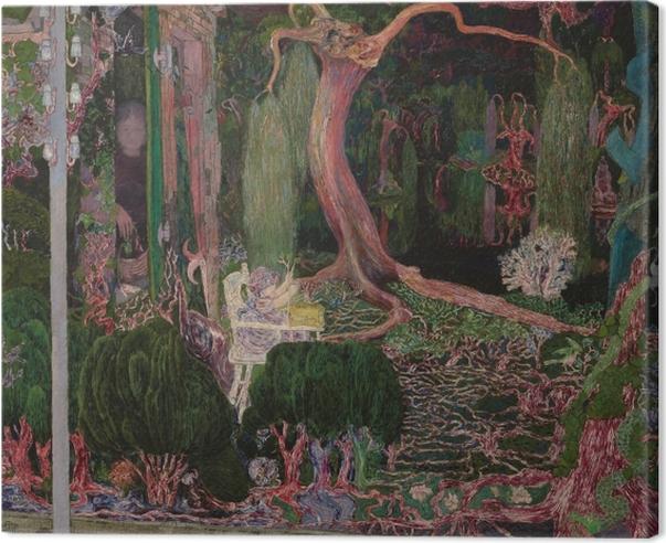 Tableau sur toile Jan Toorop - La nouvelle génération - Reproductions