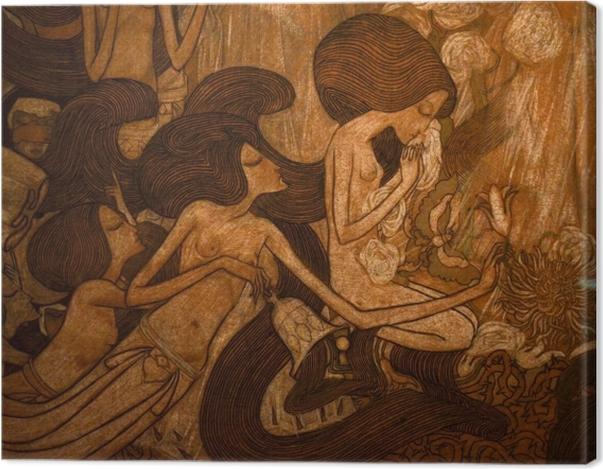 Tableau sur toile Jan Toorop - Les trois mariées - Reproductions