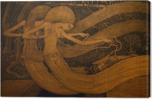 Tableau sur toile Jan Toorop - Ô tombe, où est ta victoire ? - Reproductions