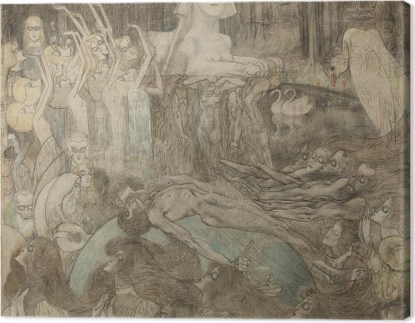 Tableau sur toile Jan Toorop - Sphinx - Reproductions
