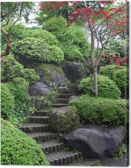 Tableau sur toile Jardin japonais à Tokyo • Pixers® - Nous vivons ...