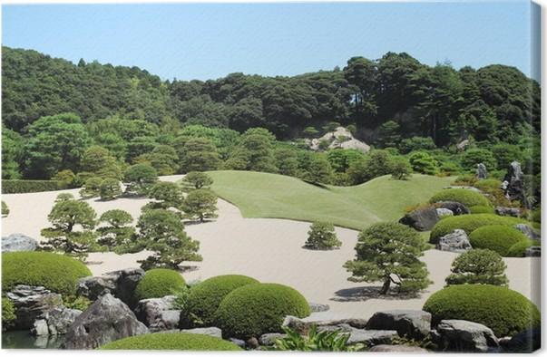 Tableau sur toile Jardin japonais • Pixers® - Nous vivons pour changer