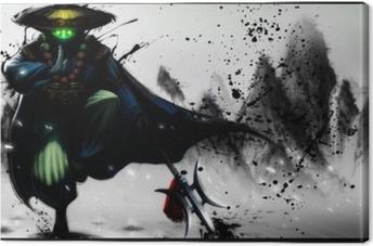 Tableau sur toile Jax - League of Legends