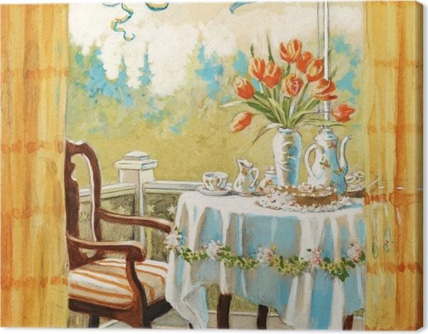 Tableau sur toile Jenny Nyström - Aquarelle et crayon - Reproductions